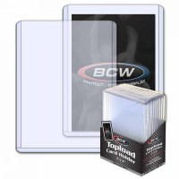 BCW 3x4 Thick Card Topload Holder 108 PT. (10-Count)