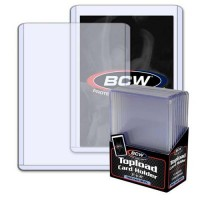 BCW 3x4 Thick Card Topload Holder 138 PT. (10-Count)