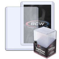 BCW 3x4 Thick Card Topload Holder 168 PT. (10-Count)