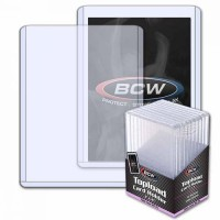 BCW 3x4 Thick Card Topload Holder 197 PT. (10-Count)
