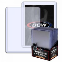 BCW 3x4 Thick Card Topload Holder 59 PT. (25-Count)