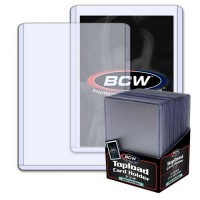 BCW 3x4 Thick Card Topload Holder 79 PT. (25-Count)