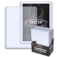 BCW 3X4 Topload Card Holder (25-Count)