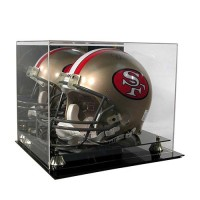 Deluxe Full Size Football Helmet Display Case
