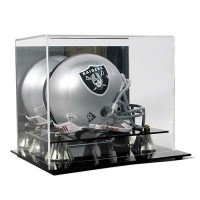 Deluxe Mini Football Helmet Display Case