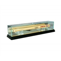 Deluxe real glass mini bat display