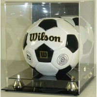Deluxe Soccer Ball Display Case