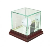 Deluxe real glass golf ball display