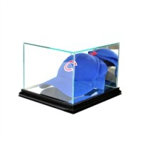 Deluxe real glass hat/cap display
