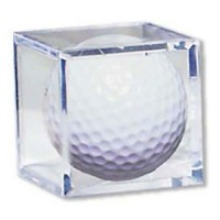 Ultra Pro Acrylic Golf Ball Display Cube