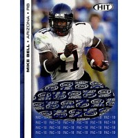 Mike Bell Arizona Wildcats Signed 2006 SAGE HIT Football Card #PAC-9 42/50