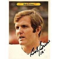 Bob Griese Miami Dolphins Signed 5x7 Jumbo 1980 Topps Card JSA Authenticated