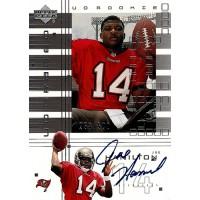 Joe Hamilton Tampa Bay Buccaneers Signed 2000 UD Graded Football Card #152 /500