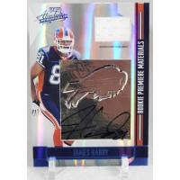 James Hardy Buffalo Bills Signed 2008 Playoff Absolute Memorabilia Card #273 /35