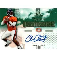 Chris Leak Signed 2007 SP Chirography Signature Quarterbacks Card #SQ-CL 24/50
