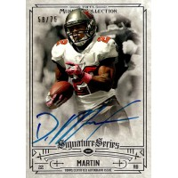 Doug Martin Buccaneers Signed 2014 Topps Museum Collection Card #SSA-DMA 58/75