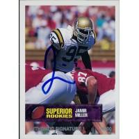 Jamir Miller UCLA Bruins 1994 Superior Rookies Autographed Card /4000 #29