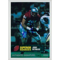 Jerry Reynolds UNLV Rebels 1994 Superior Rookies Autographed Card /6000 #71