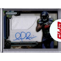 Paul Richardson 2014 Topps Strata Clear Cut Autograph Relic Rookie Card #CCAR-PR