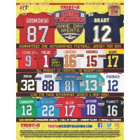 Tristar Hidden Treasures 2021 Game Day Greats Signed Jersey Football Box