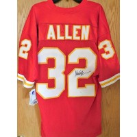 Marcus Allen Signed Kansas City Chiefs Authentic Jersey JSA Authenticated