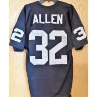 Marcus Allen Signed Oakland Raiders Custom Jersey JSA Authenticated