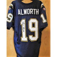 Lance Alworth Signed San Diego Chargers Authentic Jersey JSA Authenticated