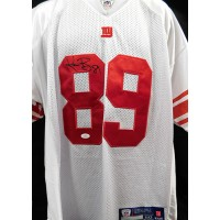 Kevin Boss New York Giants Signed On Field Jersey JSA Authenticated
