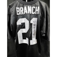 Cliff Branch Signed Oakland Raiders Custom Jersey PSA/DNA Authenticated