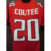 Keke Coutee Texas Tech Red Raiders Signed Custom Jersey Tristar Auth