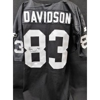 Ben Davidson Signed Oakland Raiders Custom Jersey PSA/DNA Authenticated