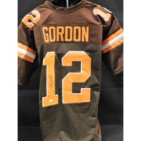 Josh Gordon Cleveland Browns Signed Custom Jersey JSA Authenticated
