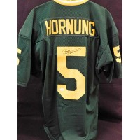 Paul Hornung Green Bay Packers Signed Custom Jersey JSA Authenticated