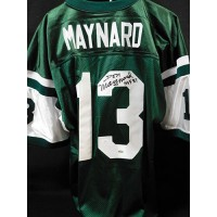 Don Maynard New York Jets Signed Pro Style Jersey JSA Authenticated