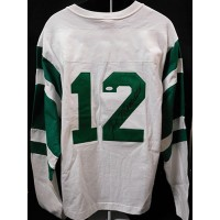 Joe Namath New York Jets Signed Throwback Sweater Jersey JSA Authenticated