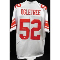 Alec Ogletree New York Giants Signed Custom Jersey JSA Authenticated