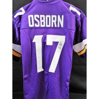 KJ Osborn Minnesota Vikings Signed Custom Jersey JSA Authenticated