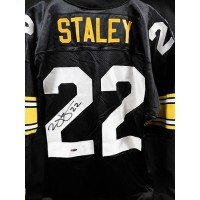 Duce Staley Signed Pittsburgh Steelers Custom Jersey TRISTAR Authenticated