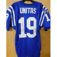 Johnny Unitas Baltimore Colts Authentic Wilson Blue Jersey JSA Authenticated