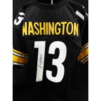 James Washington Pittsburgh Steelers Signed Custom Jersey JSA Authenticated