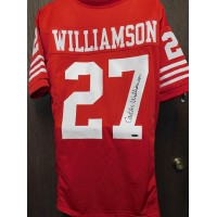 Carlton Williamson San Francisco 49ers Signed Custom Jersey Tristar Auth