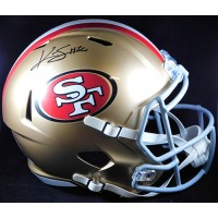 Kwon Alexander San Francisco 49ers Signed Full Size Rep Helmet BAS Authentic