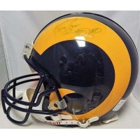 Jerome Bettis Los Angeles Rams Signed Authentic Full Size Helmet JSA Authenticated