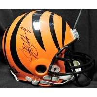 Jeff Blake Cincinnati Bengals Signed Full Size Helmet JSA Authenticated