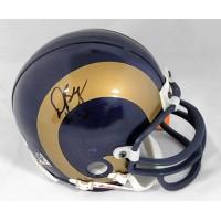 Dre' Bly St. Louis Rams Signed Mini Helmet JSA Authenticated