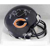 Ka'Deem Carey Chicago Bears Signed Mini Helmet JSA Authenticated