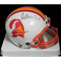 Anthony Davis Tampa Bay Buccaneers Signed Mini Helmet JSA Authenticated