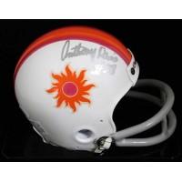 Anthony Davis Southern California Sun Signed Authentic Mini Helmet JSA Authentic