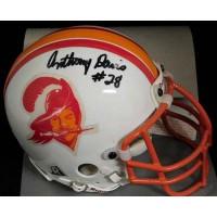 Anthony Davis Tampa Bay Buccaneers Signed Authentic Mini Helmet JSA Authentic