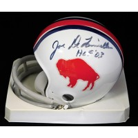 Joe DeLamielleure Buffalo Bills Signed Mini Helmet JSA Authenticated